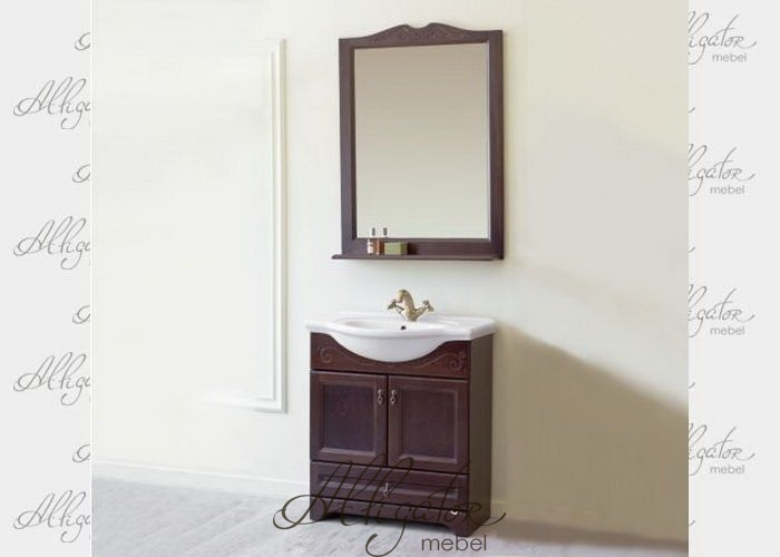 Комплект Милана 75 (тумба 5 и зеркало 1)