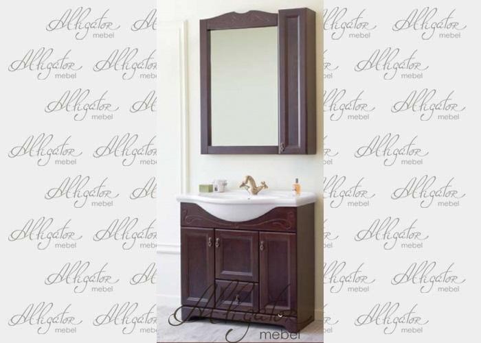 Комплект Милана 85 (тумба 8 и зеркало 3)
